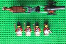 Lego US Revolutionary War British Field Cannon and Crew