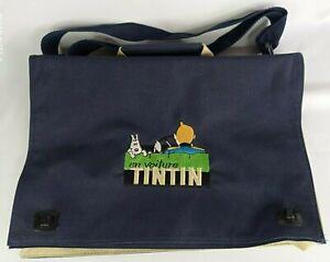 Borsa a Tracolla Moulinsart IN Auto Tintin HERGÉ Editions Atlas 2001