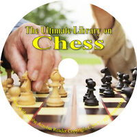 56 Vintage Books on DVD, Ultimate Library on Chess How to play History Strategy