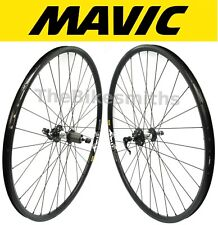 "29"" Mavic XM119 / SRAM X7 Black Front & Rear Bike Wheel Set Disc 8 9 10 11 Speed"