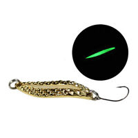 1PC Baits Sinking Fishing lures 50mm Spoon bait Hard metal Artificial LJ