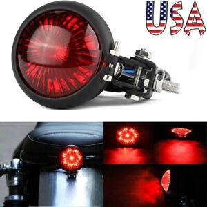 Motorcycle LED Tail Light Brake Rear Lamp For Harley Bobber Chopper Cafe Racer