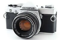 N MINT w/ Case Olympus OM-1 MD Film Camera Zuiko MC AUTO-S 50mm f1.8 From Japan