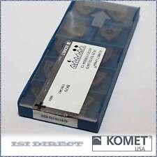 KOMET W28 42010.0404 New Carbide Inserts Grade P40 10pcs O