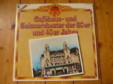 Cafehaus & Salonorchester ROBERT GADEN OTTO STENZEL GEORGES BOULANGER BONEN LP