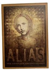 Alias The Complete Second Season (DVD, 2003, 6-Disc Set) Jennifer Garner