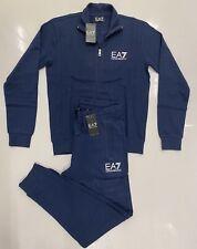 Men's  EMPORIO ARMANI EA7 Full Zip Tracksuit-Set Size- XL