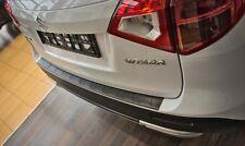 Protezione Paraurti Acciaio Inox Nero con Bisello per Suzuki Vitara da 2014