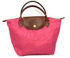 Longchamp Le Pilage Small Pink Tote Purse Bag *Flawed*