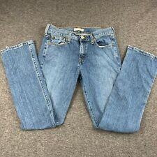 LEVIS 505 WOMEN SIZE 6 STRAIGHT LEG DENIM BLUE JEANS EUC