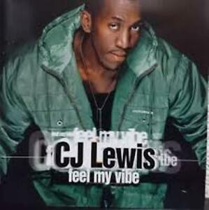 CJ Lewis - Feel My Vibe (Cd)    BRAND NEW & SEALED