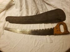 Antique, Leather Sheath With Saw