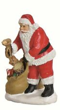 Worm 19369-209 - Christmas Figures-Santa in Jute Bag-Christmas Village