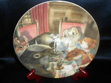 Wedgwood Bone China Plate Wind in the Willows The Banquet by Eric Kincaid