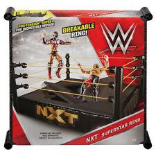 WWE NXT Wrestling Ring Playset for Basic Elite Figures- Brand New - Mattel