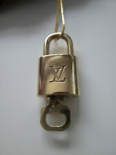 Authentic Vintage Louis Vuitton Lock and Numbered Key