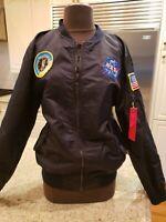 NASA Flight Jacket 100th Space Shuttle Mission Size M