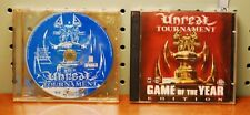 Unreal Tournament: Game of the Year Edition (PC, 2000) & Unreal Tournament disc