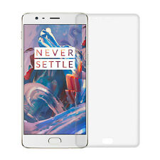 For One Plus 3 Phone Full Curved coverage Screen Protector Soft PET glass Film