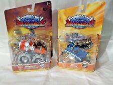 Skylanders Superchargers Lot of Two (2) ~Thump Truck & Shield Striker Land ~ NIP