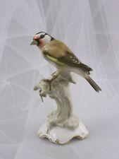 """Hutschenreuther Figur """"Distelfink"""" Stieglitz Vogel Bird Tutter Figurine 1.Wahl"""