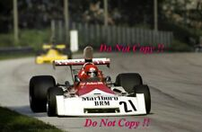 Niki Lauda BRM P160E Italian Grand Prix 1973 Photograph 2