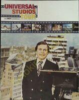 Vintage Travel Brochure The Universal Studios Tour 1981 Edition Color