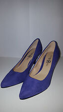 Chic London Rebel Abbie Model Court Shoes Hot Purple Small Stiletto Heel of 5cm