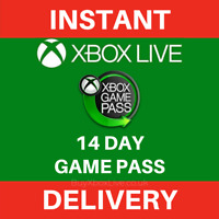 Xbox Game Pass 14 Day Trial Membership Xbox Compatible - Instant Delivery