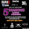 5 DIAMOND RANDOM STEAM KEYS REGION FREE INSTANT DELIVERY + GIFT
