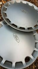 "Ford Wheel Trim Hubcaps 2 X Original 13"""