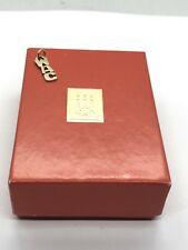 James Avery W A C Charm 14Kt Gold  WAC ***Retired**