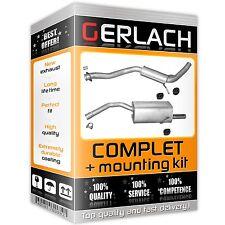 ALFA ROMEO 156 932AXA 2.0 Exhaust Back Rear Box 02 to 05 937A1.000 EuroFlo New