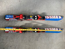 "Salomon 34"" skis 86 cms with adjustable bindings"