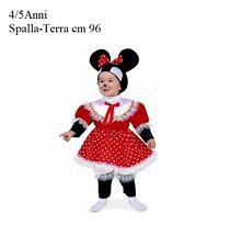 c1466428c06e Abito Vestito Carnevale Bambina Minnie Topina 4/5 Anni - giocoscuolaregalo