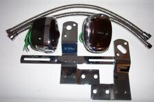 1940 -1953 Chevy truck taillight kit, lights, brackets and flex wire covers.