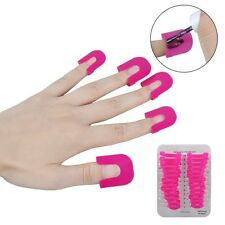 Manicure Finger Nail Art Case Design Tips Cover Polish Shield Protector Tool HOT