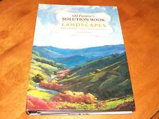 OIL PAINTER'S SOLUTION LANDSCAPES Artists Art Arts Artist Instruction Skill Book
