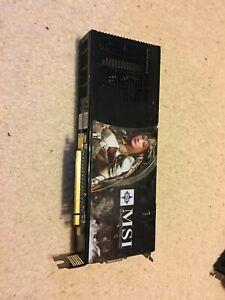 MSI GeForce 9800 GX2 1GB ( N9800GX2-M2D1G ) Video Graphics Card