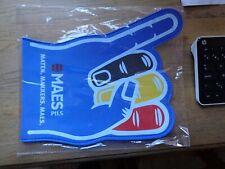 Maes pils hand reclame beer sign kunststof new in blister maten makkers Maes