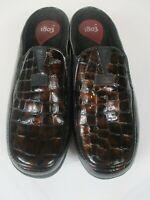 1803 Women's Shoes Copper Tone Snake Skin Pattern Leather Shoe U.S. 7.5 -New!