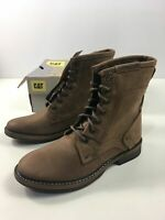 "BNIB WOMENS CATERPILLAR CAT ABE BROWN PEANUT D'ARACHIDE 6"" BOOTS UK 6 WIDE FIT"