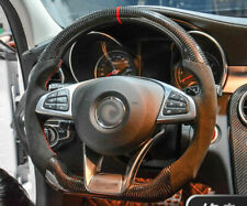 Carbon Fiber Steering Wheel For Benz W176 C117 W205 W213 X156 X253 W166 W222