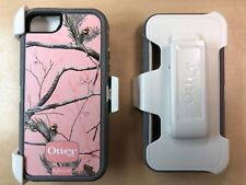 OtterBox Defender Series Case/Holster For Apple iPhone 5 5S Real Tree Camo Pink