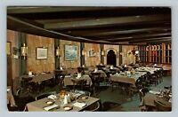 Naples FL, St George & The Dragon Restaurant, Chrome Florida Postcard