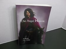 The Angel Hunter  J.A. Leary  Personalized inscription by the Author