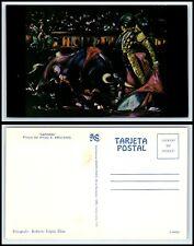 """MEXICO ART Postcard - Bullfight, Matador, """"Gaonera"""" by Antonio Arellanes C12"""