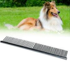 1x Comfortable Pet Dog Cat Puppy Grooming Cleaning Tool Stainless Steel Comb  PE