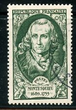 STAMP / TIMBRE FRANCE OBLITERE N° 853 / CELEBRITE / CHARLES DE SECONDAT