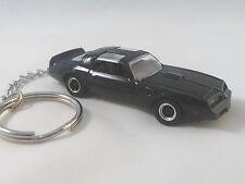 1977 Pontiac Firebird T/A Trans Am KeyChain Black '77 Trans AM Key Chain
